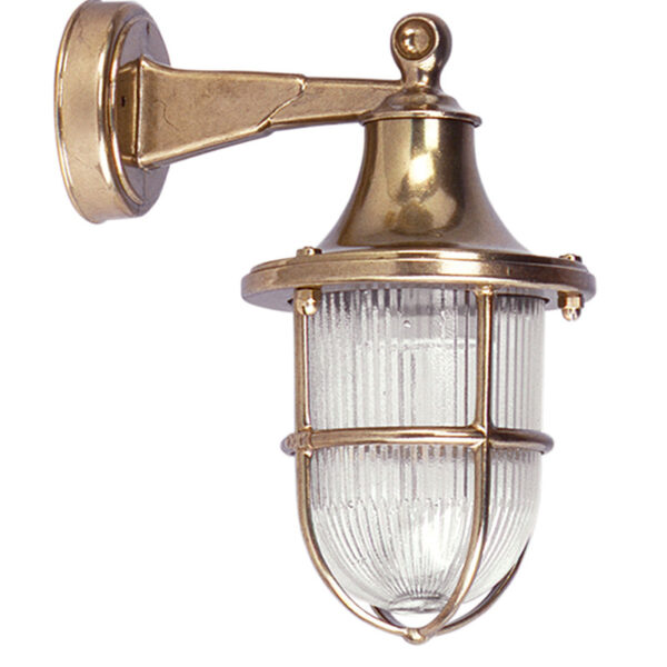 Wall Sconce in Brass, Nautical sconce