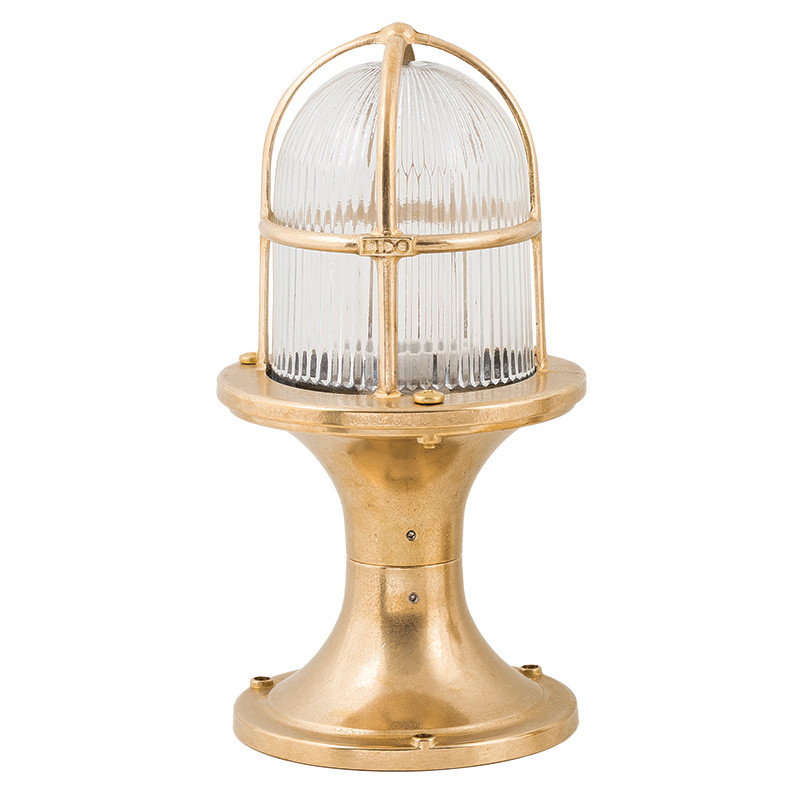 Outdoor post lights, Outdoor brass light fixtures. Instructions for use and installation - general information and techical specification