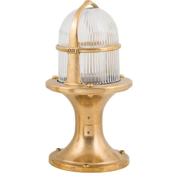 Lampe de jardin en laiton