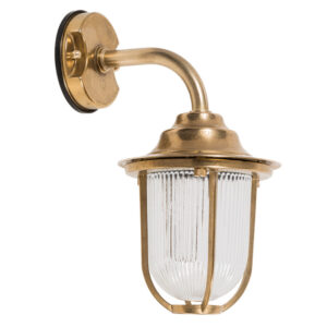 Marine Wall Lamp in Brass