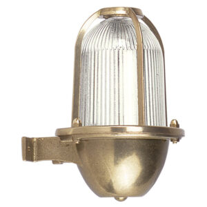 Outdoor Solid Brass Wall Light for Coastal Locations