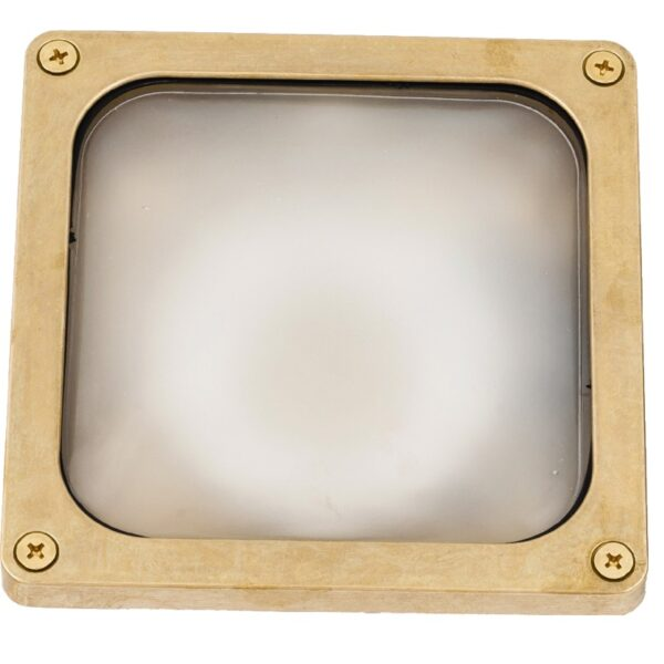wall light recessed or surface. Made of brass ART BR462