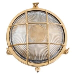 That's why we love our brass light fixtures